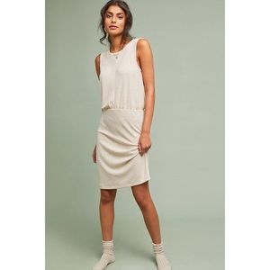 Anthropologie Layered Knit Dress